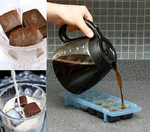 кофе в лед