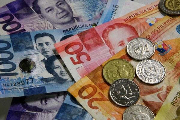 филиппинские песо и сантимы