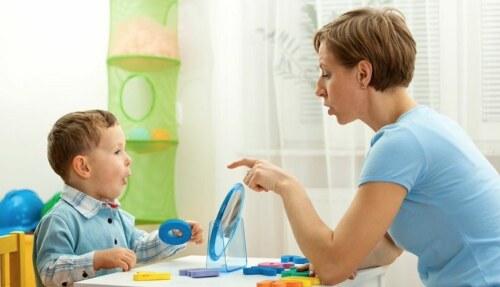 Правильное развитие речи ребенка