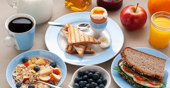 здоровый завтрак на утро