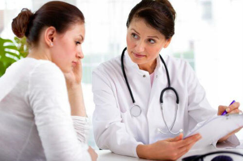 на приеме у врача-гинеколога