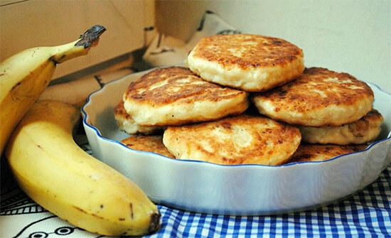 Сырники с бананом