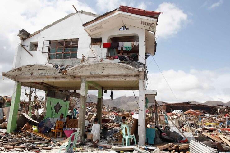 тайфун на Филиппинах, разрушения