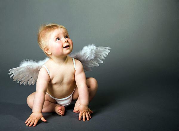 Ребенок - ангел