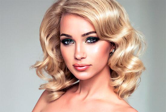 Окрашивание волос в седой цвет