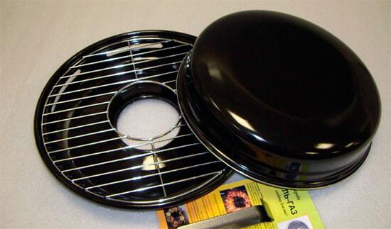 Новая сковорода гриль газ