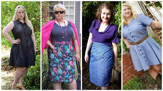 Подборка вариантов платьев для полных женщин