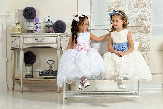 Детские вечерние платья