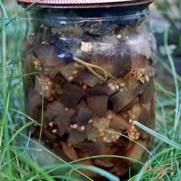 Заготовленные на зиму грибы