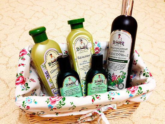 Органические бальзамы и шампуни для здоровья волос