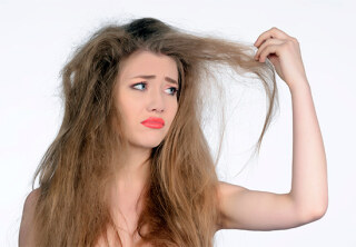Проблемы с волосами - ломкие как пакля