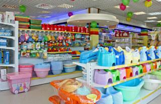 магазин детских аксессуаров, ваночек