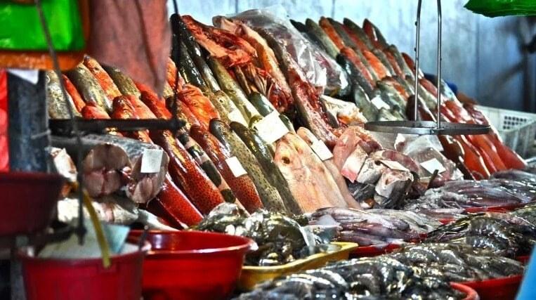 рыба и морепродукты на Филиппинах