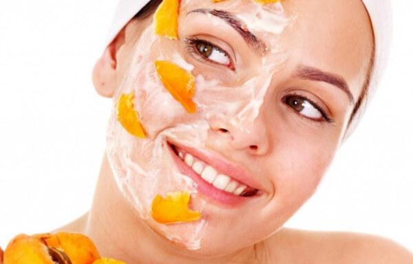 йогурт и абрикос - маска на лице