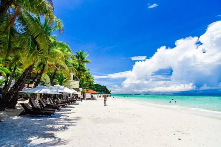 остров боракай, пляж
