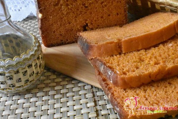 Хлеб с томатной пастой