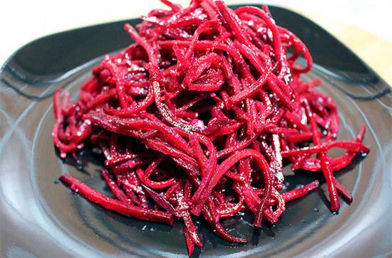 салат из свеклы по корейски
