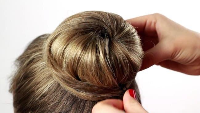 Пучок волос