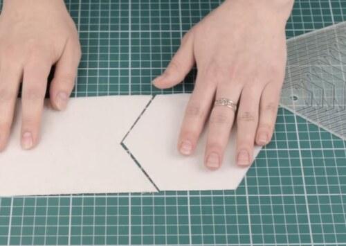 вырезание шестиугольников