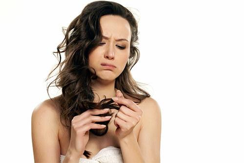 проблема с волосами, секущиеся кончики
