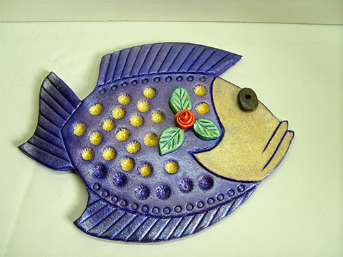 рыба из теста