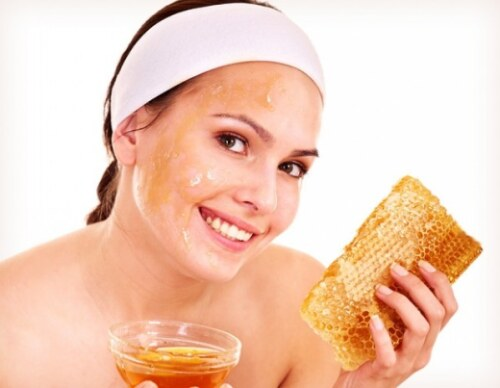 средства из меда, маска