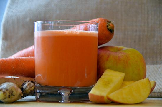 Сок из моркови в домашних условиях на  523