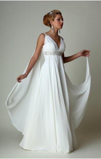 Изящное греческое платье