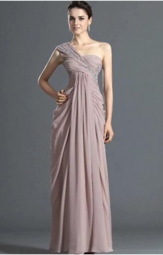 вечернее греческое платье