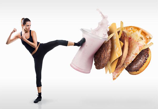 Нокаут фастфуду - первый шаг к похудению