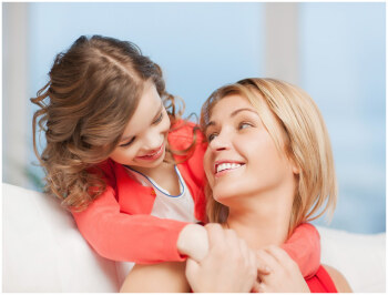 Мама и дочка, воспитание