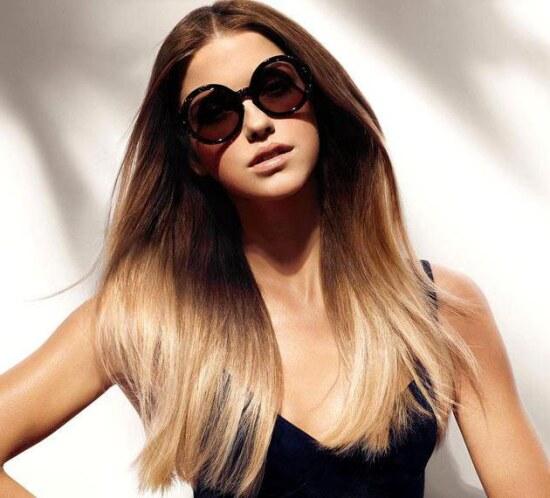 деграде окрашивание волос