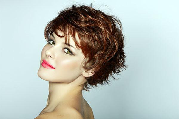 Роскошные ламинированные волосы, короткая стрижка