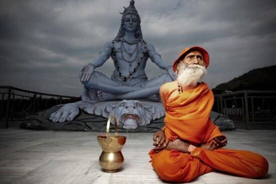 Старый йог и Шива