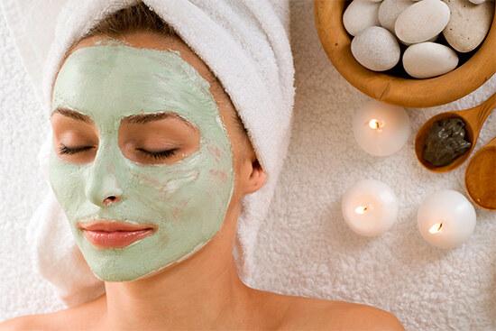 Глиняная маска для лица