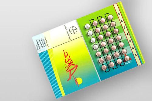 Упаковка таблеток Джес