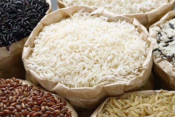 Белый, бурый и черный рис