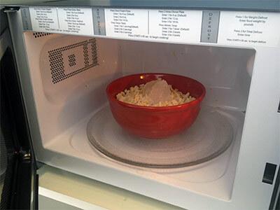 Приготовление риса в микроволновке