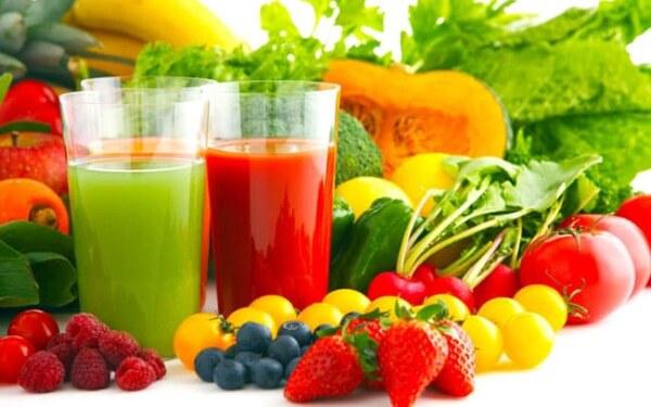 Овощи, фрукты и соки для повышения иммунитета