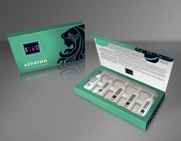 ампулы с кератином