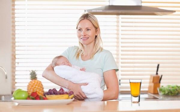 Диета мамы при грудном вскармливании ребенка