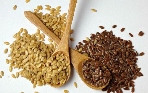 Разные сорта семян льна