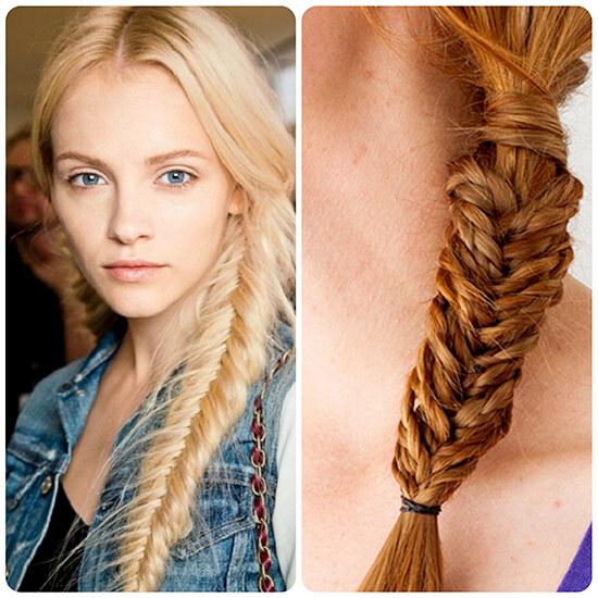 Девушка славянка с длинной косой