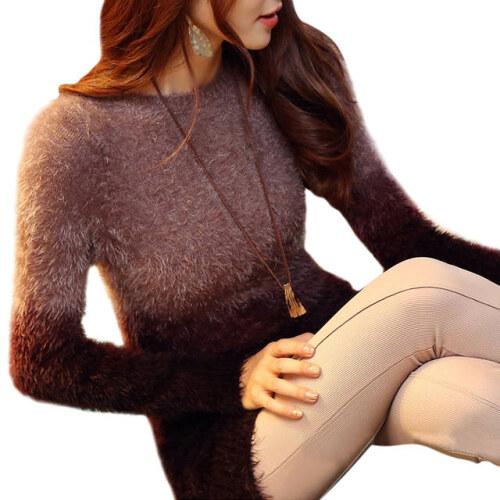 Модный мохеровый свитер 2017