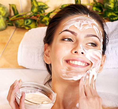 маска с глицерином для лица