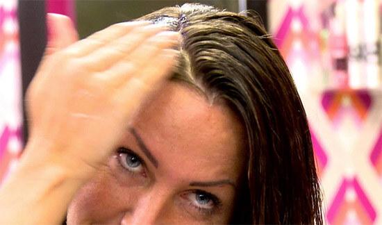 Маска для волос, нанесение