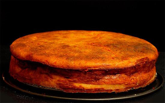 Пирог из тыквенного пюре