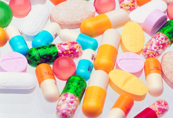 Препараты, витаминно-минеральный комплексы