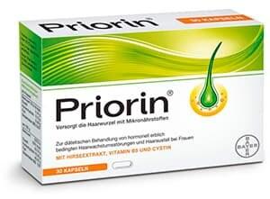 Аптечный препарат Приорин для волос