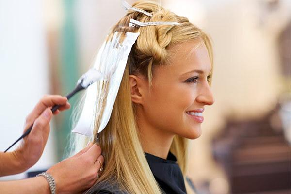 Бережное окрашивание волос